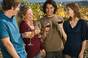 Even if you don't have access to a vineyard you can still enjoy a wine country party.