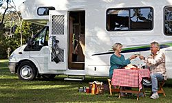 What are some of the best wine locations to visit in an RV?