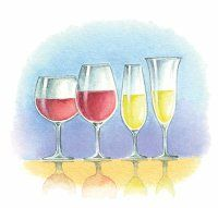Appearance refers to the wine's clarity, not color.