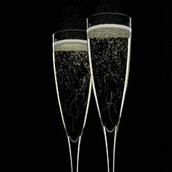People love to drink champagne at special occasions, but it works surprisingly well with meals.