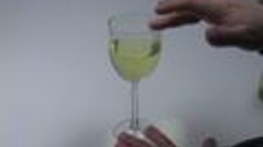 How can you make a wine glass sing?