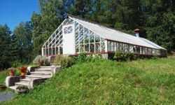 If you're serious about keeping a great garden during the winter, a greenhouse will take care of everything.