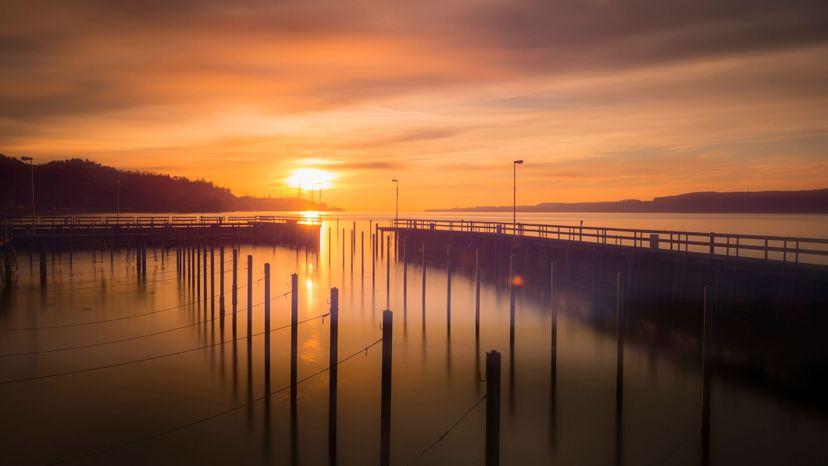 sunset, Lake Constance