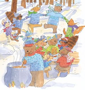 The sugaring-off party was Jesse's favorite time of the year.