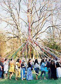 Beltane 2004, a festival in Oxford, Conn.