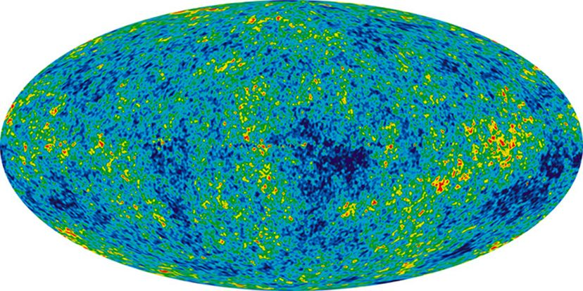 Map of universe's first days from WMAP