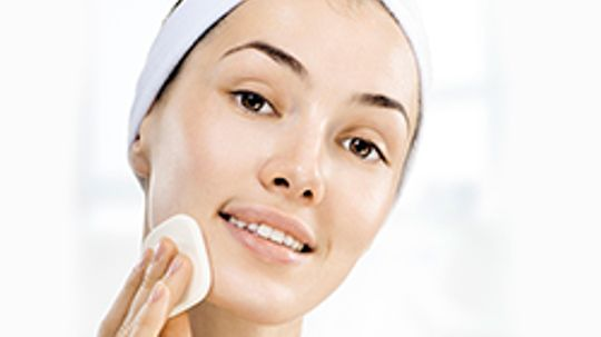 How can I prevent red skin on my face?