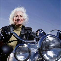 More women are taking to the road on two wheels. See more motorcycle pictures.