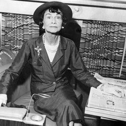 """Coco Chanel was the only fashion icon to make Time's """"100 Most Important People of the Century"""" list."""