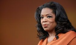Oprah Winfrey announced the launch of her own network in 2010.