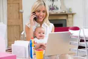 Image Gallery: Work After Maternity Leave Making the decision to return to work after maternity leave is difficult -- can you afford to stay home if that's what you want? See more pictures of work after maternity leave.