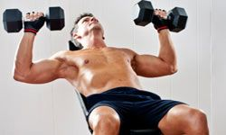 Don't overdo it when you're working your muscles.