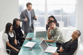 Workplace groups should take as much time as they need to mesh, but effective teams put clear leaders in place to stamp out conflict.