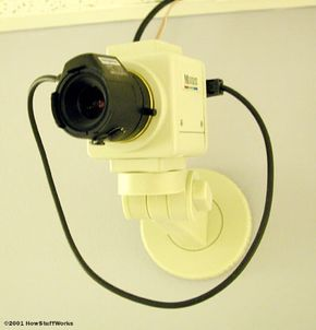 Cameras can monitor actions that computer programs can't.
