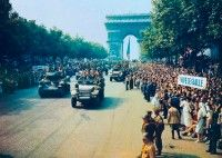 The Allies liberate France.
