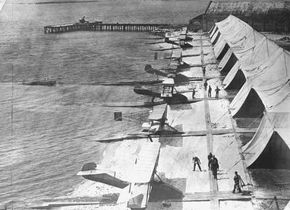 The Navy established a flight training station in Pensacola, Florida. See more flight pictures.