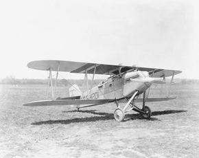 The Curtiss PW-8 featured wing surface radiators. Unfortunately, they were a maintenance nightmare and impractical in combat.