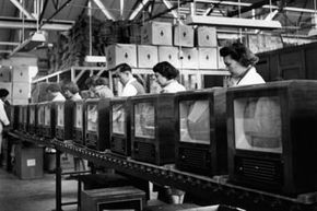 Image Gallery: Evolution of TV In the years following World War II, television production skyrocketed. See more pictures of TV's evolution.