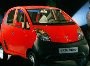 Although the Nano is only 8.5 feet long and 5 feet tall, the car can still fit five passengers.