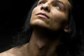 Although it tends to be more noticeable on males, both women and men have an Adam's apple.