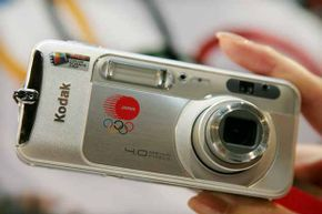 Eastman Kodak unveiled an Olympic Games commemorative limited edition compact digital camera in 2004. Now, they're out of the camera business.