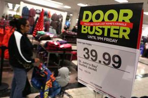 This J.C. Penney store shows a jacket on sale for $39.99, down from $100. Studies have shown that customer prefer this kind of pricing scheme to 'everyday low prices.' Unfortunately, CEO Ron Johnson didn't believe it.