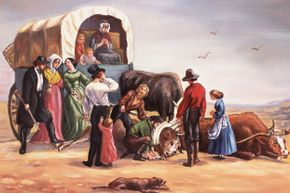 The Donner party was plagued by problems as they made their way west.