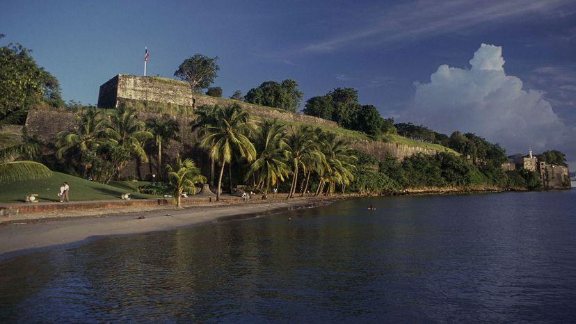 Fort Saint-Louis in Fort-de-France, Martinique