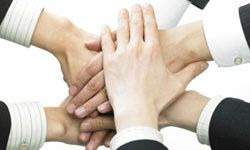 Forced hand-to-hand contact in the workplace is likely to make people uncomfortable.