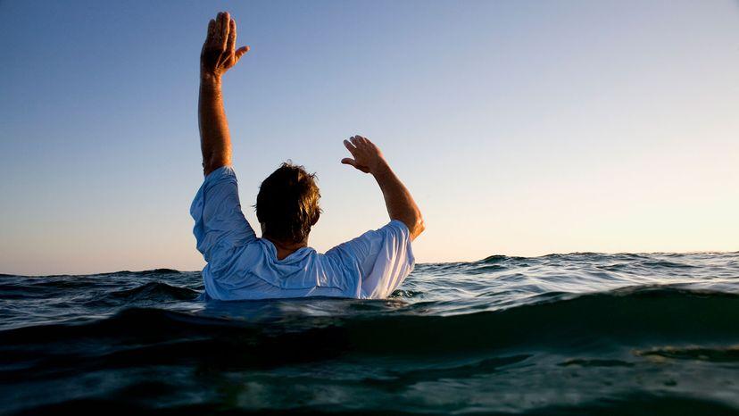 die by drowning