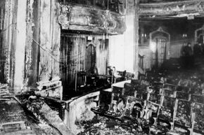 aftermath of iroquois theatre fire
