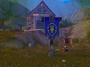 The mine in Arathi Basin is collecting