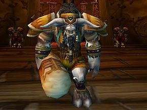 """Cairne Bloodhoof is the leader of the Tauren people. He assisted Thrall in """"Warcraft III"""" and established the city of Thunder Bluff after the game's conclusion."""