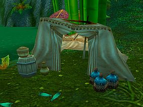 Pagle's Point inside the temple of Zul'Gurub is home to a battered tackle box, a giant hydra and continuously re-spawning jugs of Darkmoon Special Reserve.
