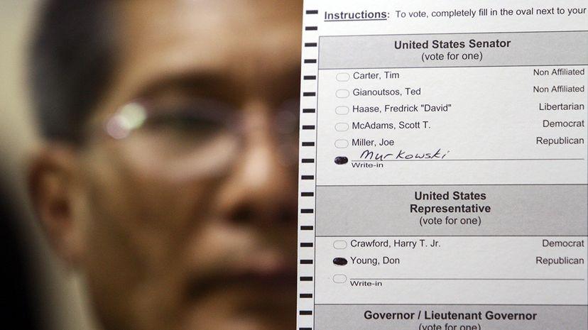 write-in ballot