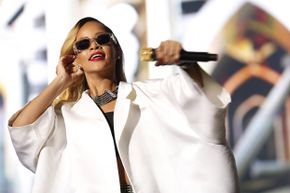 Singer Rihanna performs at the 12th Mawazine World Rhythms international music festival on May 24, 2013. Rihanna, in fact, could not have been somebody's son.