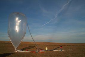 The da Vinci launch balloon