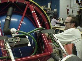 The da Vinci team's final prototype preparations