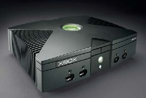 Microsoft unveiled the Xbox's final industrial design at the 2001 Consumer Electronics Show. See more video game system pictures.