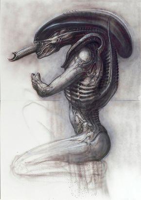 Alien III, Side View III