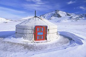 Yurts work well in a variety of climates.