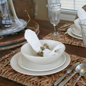 With the right supplies and a little time, you can create your very own nature-inspired placemats.