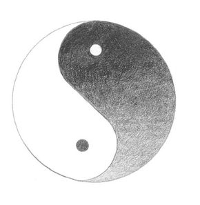 The theory of yin and yang explains the constantly                                      changing state of the universe.