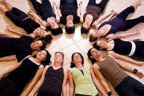 Yoga involves dozens of postures or asanas.