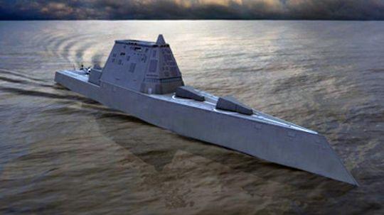 How the Zumwalt Class Destroyer Works