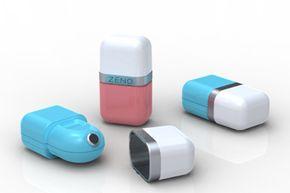 The new Zeno Hot Spot acne treatment device will be available in January 2010.