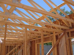 The double stud framing of a Habitat for Humanity ZEH in Colorado allows for energy efficiency.