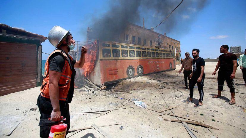 Gaza Strip violence