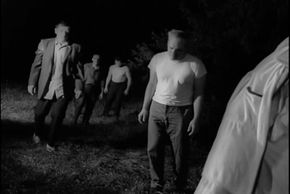 """Many movies follow the example of """"Night of the Living Dead"""" and portray zombies as far more dangerous in large groups."""