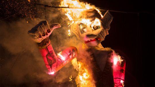 Zozobra: Santa Fe's Yearly Incineration of Sorrows